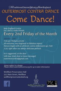 Outermost Contra Dance - 3rd Friday this month!