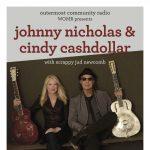 WOMR presents: Johnny Nicholas & Cindy Cashdollar