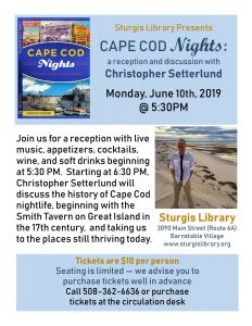 Cape Cod Nights with Christopher Setterlund