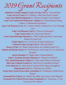 Mid-Cape Cultural Council Grant Reception
