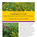 Landscapes for Life: Native Plants and the Nature Connection in Our Gardens