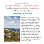 Books for Idle Hours: Nineteenth-Century Publishers and the Birth of the Beach Read