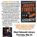 Author Joseph Finder