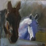 """Mostly Horses"": Art by Nancy Minnigerode"