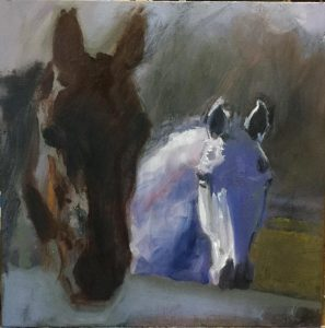 """""""Mostly Horses"""": Art by Nancy Minnigerode"""