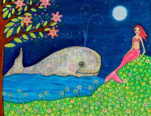 The Mermaid and the Whale Puppet Show