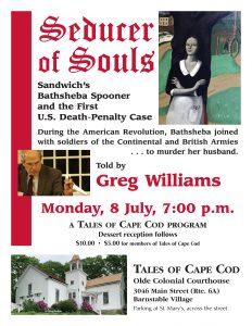 Seducer of Souls: Sandwich's Bathsheba Spooner and...