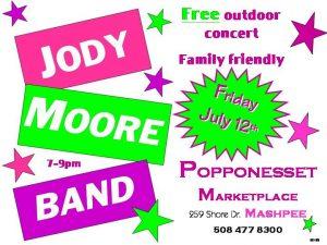 Jody Moore Band @ Popponesset Marketplace!