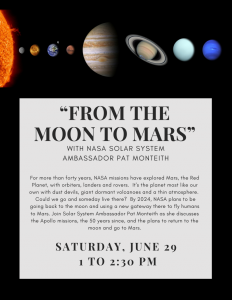 """""""FROM THE MOON TO MARS"""" - WITH NASA SOLAR SYST..."""