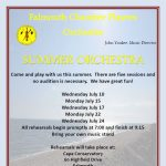 Falmouth Chamber Players Orchestra Summer Reading Orchestra