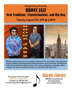 Bronx Jazz: Oral Traditions, Transformations, and Hip Hop