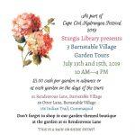 Hydrangea Festival 2019: Sturgis Library's Three Barnstable Village Garden Tours