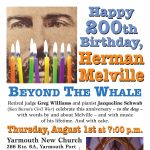 HAPPY 200TH BIRTHDAY, HERMAN MELVILLE: BEYOND THE WHALE
