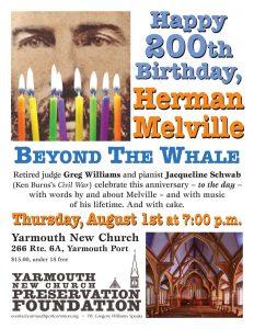 HAPPY 200TH BIRTHDAY, HERMAN MELVILLE: BEYOND THE ...
