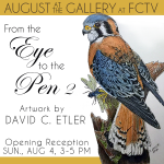 """""""From the Eye to the Pen 2"""" - Artwork by David C. Etler"""