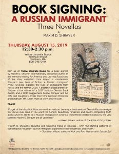 A Russian Immigrant: Book Signing