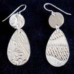 Precious Metal Clay with Ellen Scott: Tues, 1-4 or 5:30-8:30 pm Oct. 15- Nov. 12.
