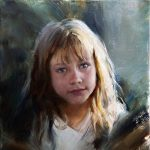 Michelle Dunaway- Capturing the Expressive Qualities of the Alla Prima Portrait- Oil in Studio