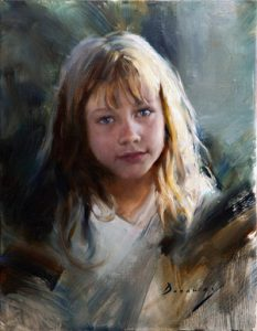 Michelle Dunaway- Capturing the Expressive Qualities of the Alla Prima Portrait- Oil in Studio