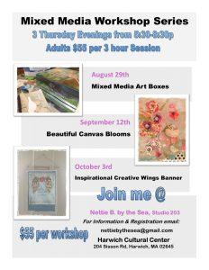 Mixed Media Workshop Series: Boxes, Blooms & B...