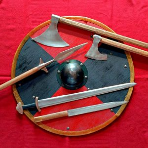 Viking Fighting Moves from the Sagas of Icelanders...