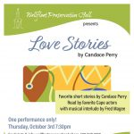 Love Stories: Staged Readings of Stories by Candace Perry