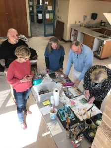 Robin Litwin - Intro to Encaustic Painting, Friday, Nov. 15: 9am-3:30 pm.