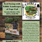 Seed Saving with Cape Cod Edible Landscapes