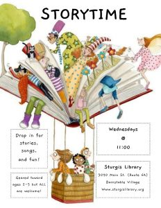 Preschool Storytime at Sturgis Library