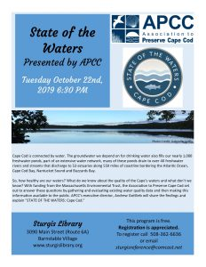 State of the Waters with APCC