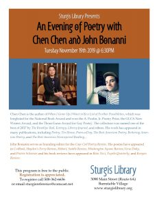 An Evening of Poetry with Chen Chen and John Bonan...