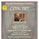 Falmouth Chamber Players Orchestra Fall Concert