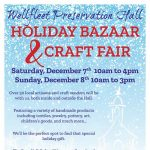Wellfleet Preseration Hall Holiday Bazaar and Craft Fair