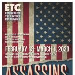 Assassins by Stephen Sondheim. Directed by Joan McKenzie-Baird. Musical Direction by Chris Morris.