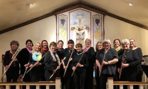 Conservatory Flute Choir Performance: Songs from t...