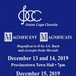 Outer Cape Chorale, Magnificent Magnificats!