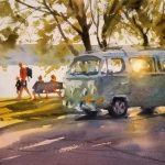 2020 - Watercolor Workshop with Andy Evansen, June 16, 17, 18.