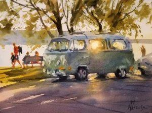 2020 - Watercolor Workshop with Andy Evansen, June 16, 17, 18.