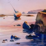 Watercolor with Robert Mesrop at the Creative Arts Center in Chatham