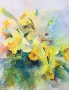 Vera Champlin - Inspired Watercolor, Wednesdays, Feb 19, 26, March 4, 11, 18, 25
