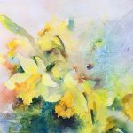 Vera Champlin - Inspired Watercolor, Wednesdays, April 1, 8, 15, (skip 22), 29, May 6, 13.