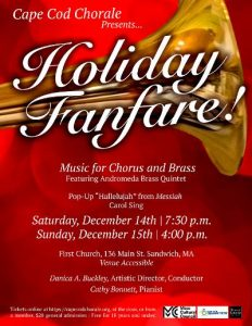 Holiday Fanfare! Music for Brass and Choir