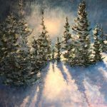 Becoming a Fearless Painter: Winter Wonderland