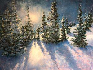 Becoming a Fearless Painter: Winter Wonderland