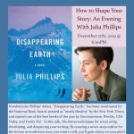 How to Shape Your Story: An Evening With Julia Phillips