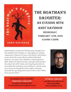 The Boatman's Daughter: An Evening with Andy Davidson