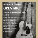 Sturgis Library Open Mic Night