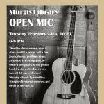 Sturgis Library Open Mic Night