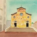 """Art Film Screening: """"Biography of a Painting: Marian Parry Paints San Gimignano"""" by Charles Mann"""