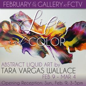 """Life and Color"" - Abstract Liquid Art by Tara Var..."